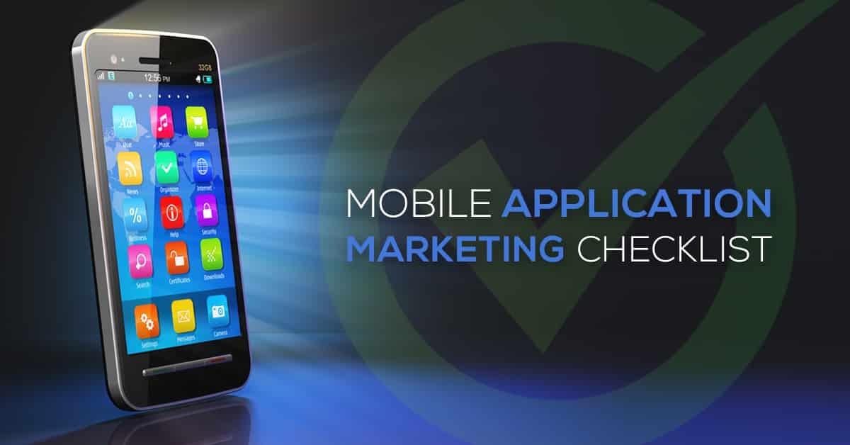 mobile app marketing checklist