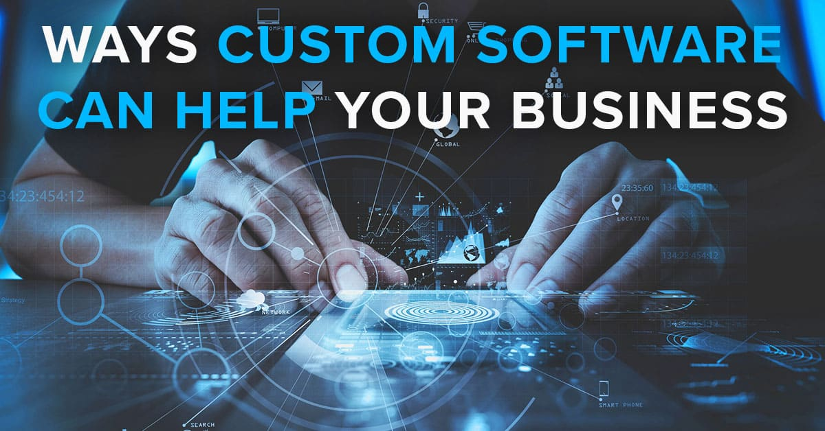Custom software development for your company