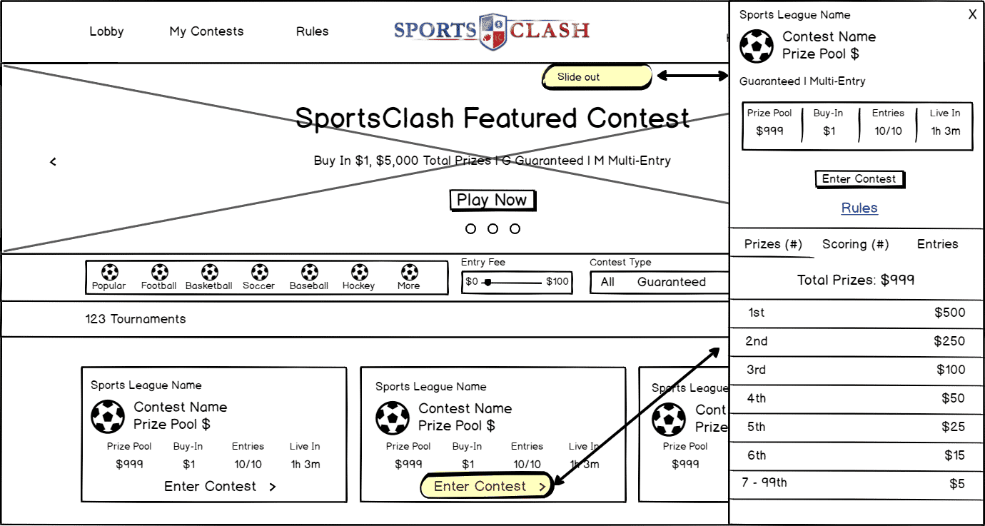 SportsClash - Next Generation of Fantasy Sports Gaming for Sports Fans