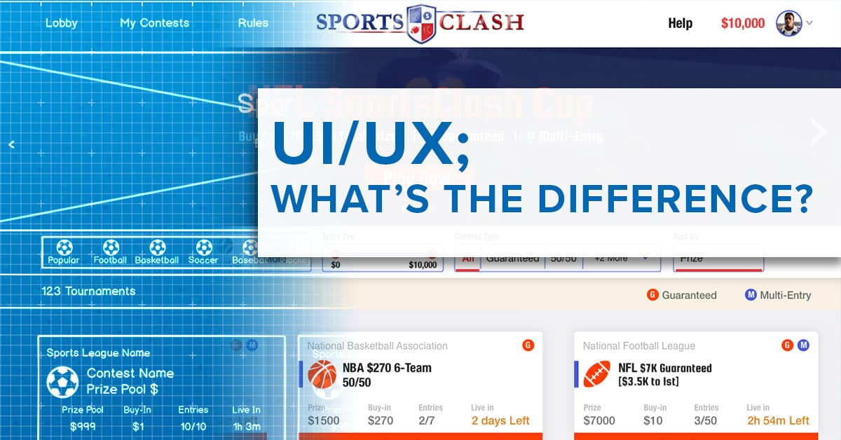 what is the difference between UI & UX